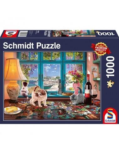 Schmidt Το τραπέζι του παζλ 1000pcs (58344)