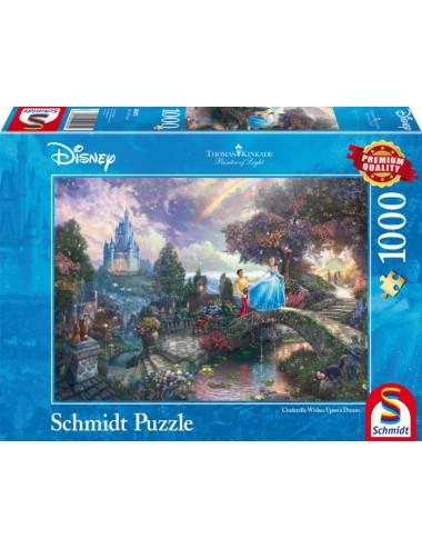 Schmidt 59472 Kinkade Disney - Σταχτοπούτα 1000pcs