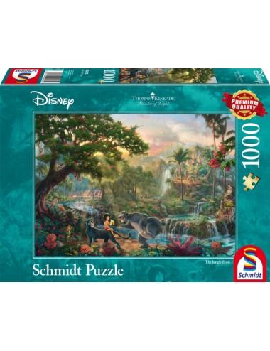 Schmidt 59473 Kinkade Disney - To βιβλίο της ζούγκλας 1000pcs