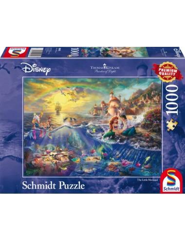Schmidt 59479 Kinkade Disney - Η μικρή Γοργόνα 1000pcs