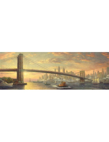 Schmidt 59476 Kinkade Pano - Γέφυρα του Μπρούκλιν 1000pcs