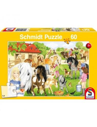 Schmidt 56205 Standard - Βόλτα στους στάβλους 60 pcs