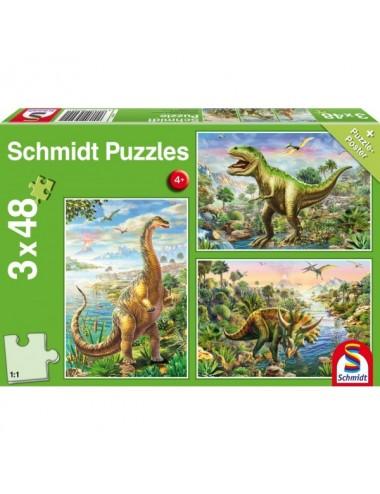 Schmidt 56202 Standard -  Δεινόσαυροι  3x48pcs