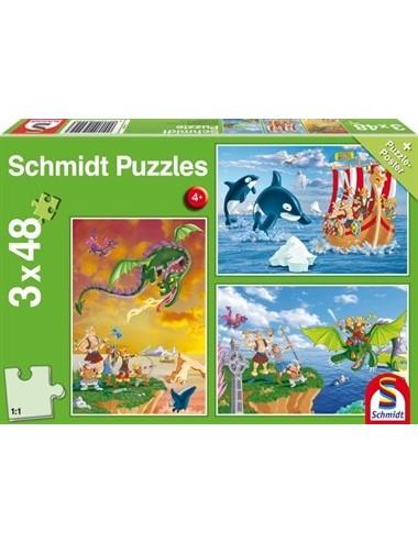 Schmidt 56224 Standard -  Βίκινγκς  3x48pcs