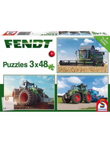 Schmidt 56221 Standard - Fendt 1050  Τρακτέρ 3x48pcs