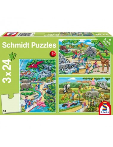 Schmidt 56218 Standard - Ζωολογικός Κήπος 3x24pcs