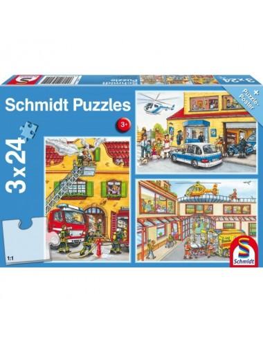 Schmidt   56215 Standard - Πυροσβεστική / Αστυνομία 3x24pcs