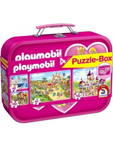 Schmidt Playmobil: Βαλιτσάκι 2x60 & 2x100pcs (56498)
