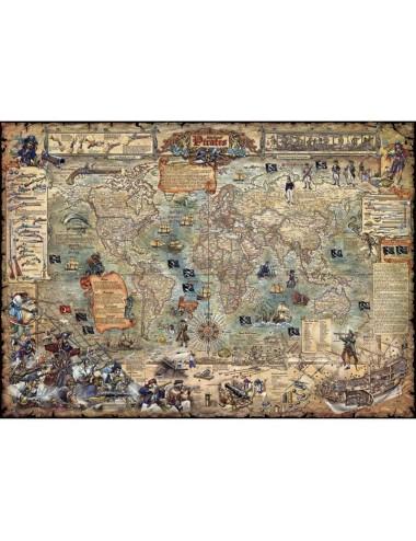 HEYE 29847 World - Πειρατικός χάρτης