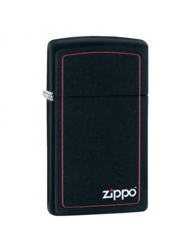 1618ZB ZIPPO SLIM BLACK...