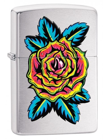 29399 Zippo Flower Tattoo...