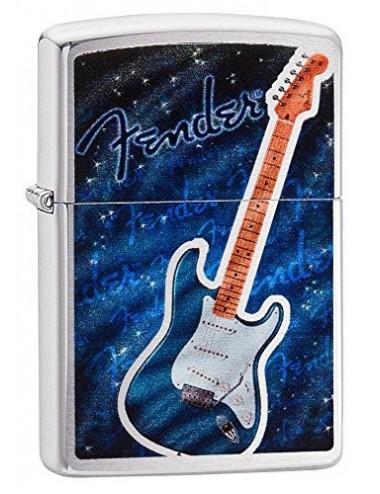 29128 Zippo Fender Blue...