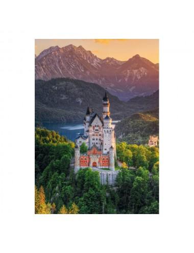 Schmidt Κάστρο Neuschwanstein 1000pcs (58179)