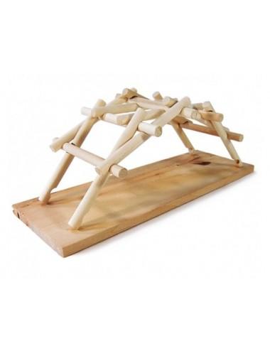 Sabmatt Ξύλινες κατασκευές Da Vinci Bridge