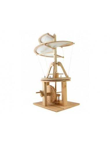Sabmatt Ξύλινες κατασκευές Da Vinci Ελικόπτερο