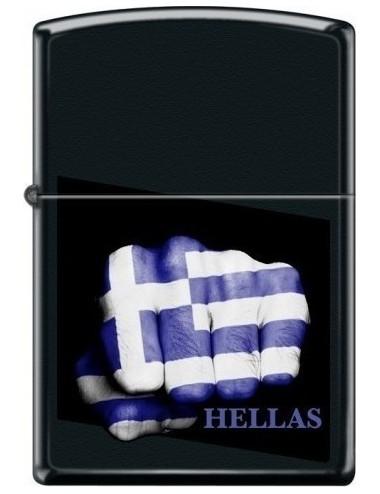 Zippo αναπτήρας 218-009435 GREEK FLAG FIST