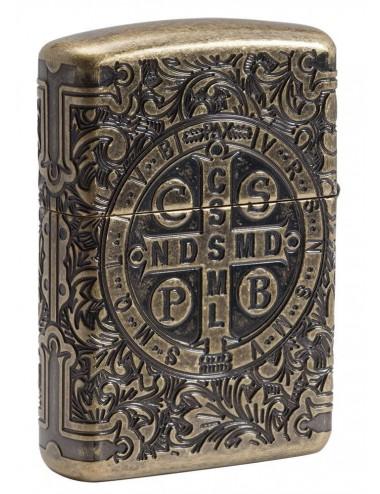 Zippo St. Benedict Design 29719