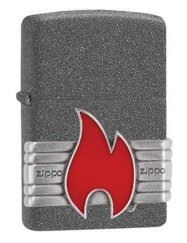 Zippo Red Vintage Wrap 29663