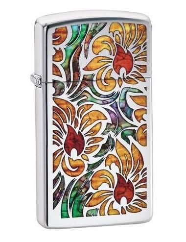 Zippo Fusion Floral Design 29702