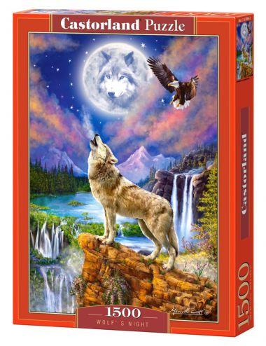 Castorland WOLF'S NIGHT 1500 ΚΟΜΜΑΤΙΑ C-151806
