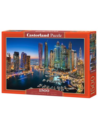 Castorland SKYSCRAPERS OF DUBAI 1500 ΚΟΜΜΑΤΙΑ C-151813