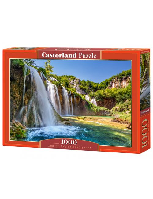 Castorland LAND OF THE FALLING LAKES 1000 ΚΟΜΜΑΤΙΑ C-104185