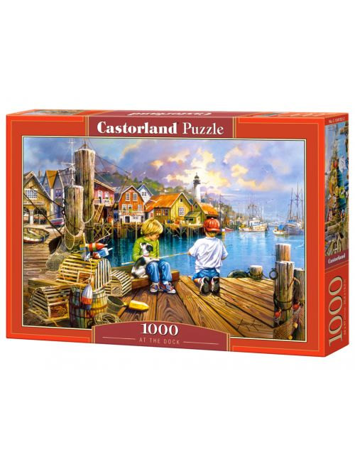 Castorland AT THE DOCK 1000 ΚΟΜΜΑΤΙΑ C-104192