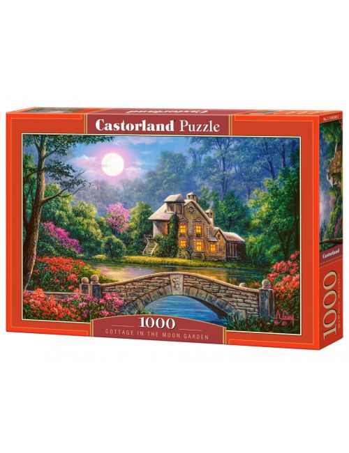Castorland COTTAGE IN THE MOON GARDEN 1000 ΚΟΜΜΑΤΙΑ C-104208