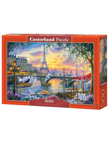 Περισσότερα σχετικά με Castorland TEA TIME IN PARIS 500 ΚΟΜΜΑΤΙΑ  B-53018
