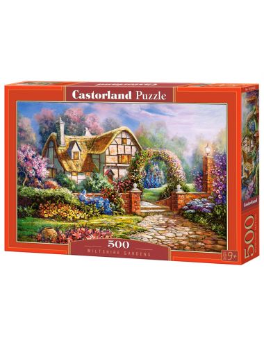 Castorland WILTSHIRE GARDENS 500 ΚΟΜΜΑΤΙΑ B-53032