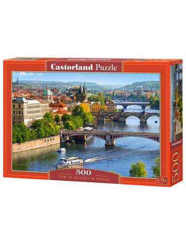 Castorland VIEW OF BRIDGES IN PRAGUE 500 ΚΟΜΜΑΤΙΑ B-53087