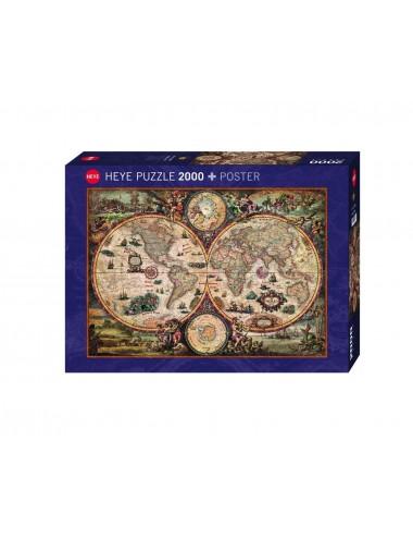 Heye Χάρτης Παλιού Κόσμου 2000pcs