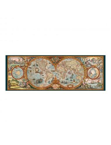 Heye Zigic: Hemisphere Map (Panorama) 6000pcs (29615)