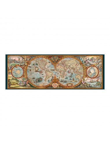 Heye Zigic: Hemisphere Map (Panorama) 6000pcs (29615)