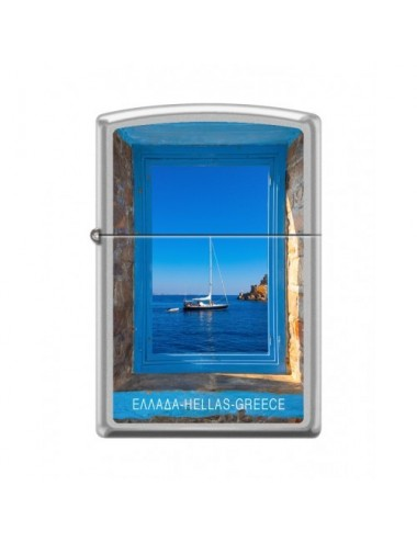 ZIPPO 205-015034 SAILBOAT IN WINDOW CI018480