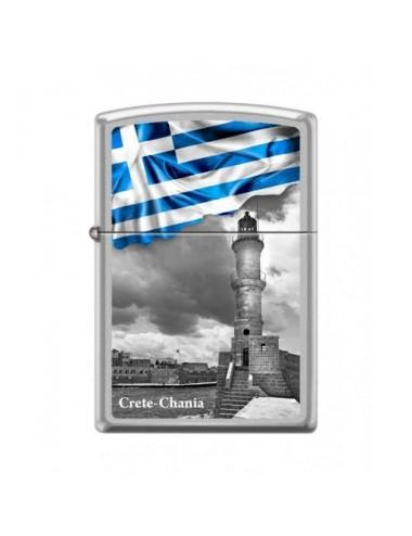 ZIPPO 205-015039 GREEK FLAG CHANIA CI018490