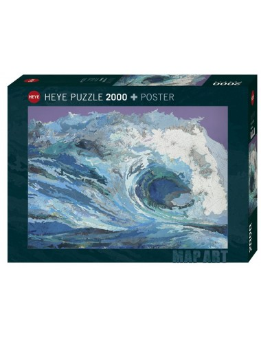 Heye Map Wave 2000pcs 29872