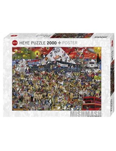 Heye British Music History 2000pcs 29848