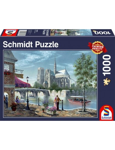 Περισσότερα σχετικά με Schmidt 58375 Η Παναγία του Παρισιού 1000pcs