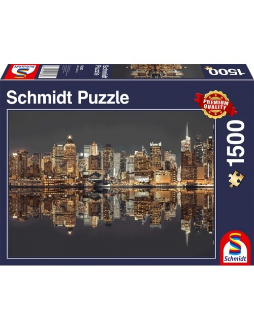 Schmidt 58382 Νυχτερινή Νέα Υόρκη 1000pcs