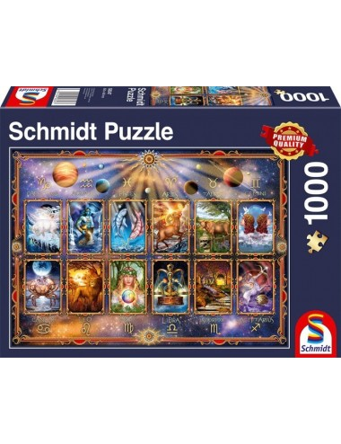 Περισσότερα σχετικά με Schmidt 58347 Σήματα Ζωδίων 1000pcs