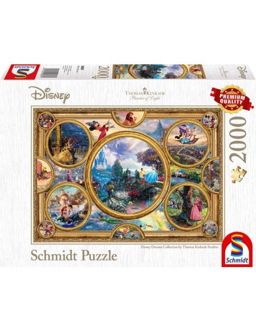 Schmidt Συλλογή Disney όνειρα 2000pcs (59607)