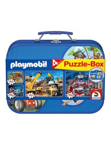 Playmobil - Μεταλ. βαλιτσάκι 2x60 + 2x100