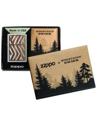 ZIPPO WOODCHUCK USA Herringbone Sweep 29902