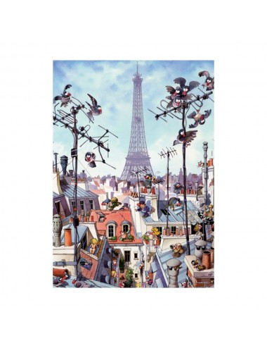 Heye Jean-Jacques Loup: Eiffel Tower 1000pcs (29358)