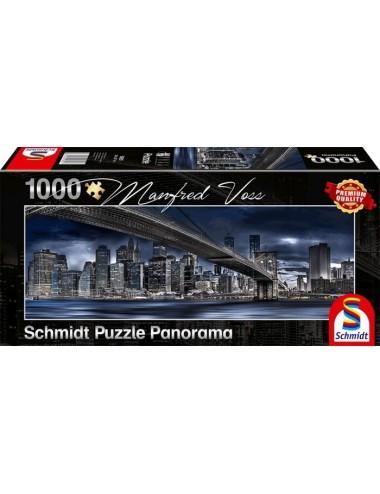 Schmidt 59621 Panorama Σκοτεινή Νέα Υόρκη 1000pcs