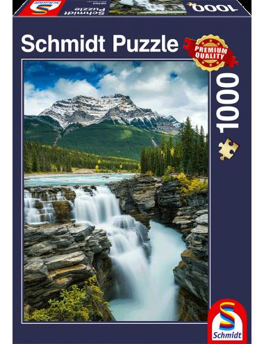 Schmidt Athabasca Falls-Canada 1000pcs (58360)