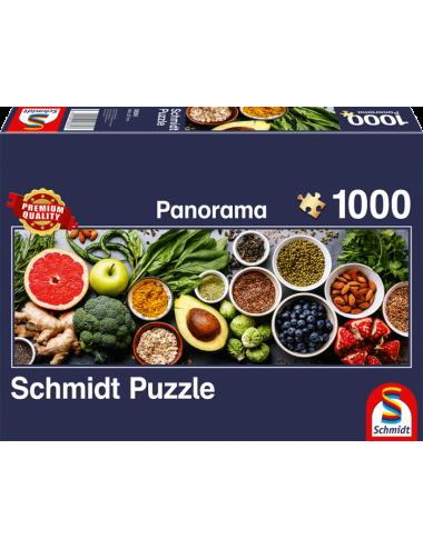 Schmidt Panorama Οn The Kitchen Table 1000pcs 58361
