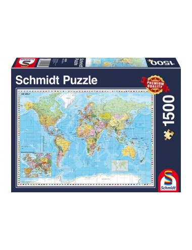 Schmidt The World 1500pcs 58289