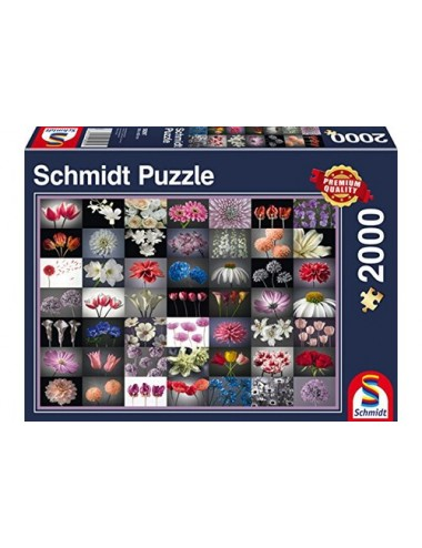 Schmidt Flower Greeting 2000pcs 58297